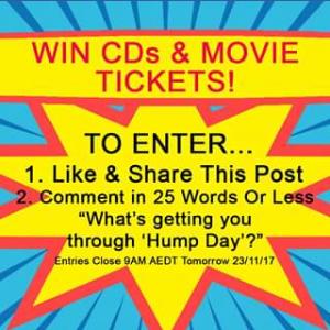 Sanity – Win Cds & Movie Tickets