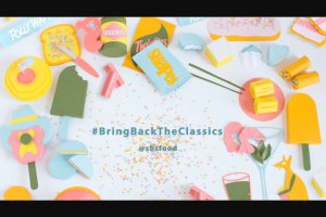 SBS Food – Win You Must Enter Via Instagram Only and Make Sure You Use The Hashtag Bringbacktheclassics and Tag Us Sbsfood (prize valued at $1,000)