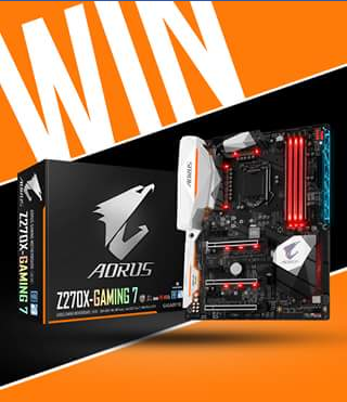 Scorptec – Win an Aorus Z270x Gaming 7 Motherboard Worth Nearly $400 (prize valued at $400)