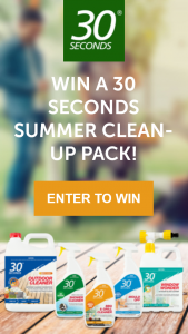 30 Seconds Australia – Win Our 5 Most Popular Products to Effortlessly Clean Your House