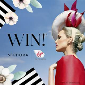 Sephora – Win Two Virgin Australia Tickets to Fly Anywhere In Australia Plus a Sephora Travel Essentials Pack (prize valued at $500)