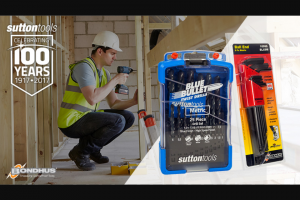 Southern Cross Austereo MMM – Win a Sutton Tools & Bondhus Prize Pack Worth $340 to Help You Make Light Work of Your Summer Diy Projects (prize valued at $340)