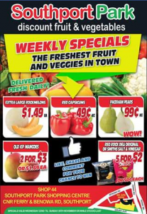 Southport Park Discount Fruit Barn – Win a $50 Fruit & Vegetable Box