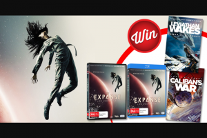 Stack Magazine – Win 1/4 The Expanse Book and Blu-Ray Prize-Packs