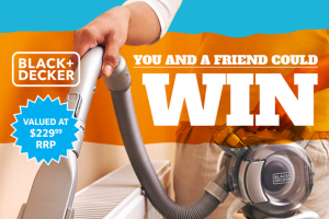 Stan Cash – Win a Handy Black & Decker Flexi-Hand DusTBuster Worth $229 (prize valued at $458)