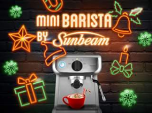 Sunbeam Australia – Win a Sunbeam Mini Barista Espresso Machine