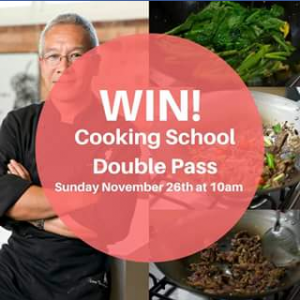 Sunnybank Plaza – Win a Double Pass to Our Cooking School With Resident Chef Tony Ching Valued at $160 (prize valued at $160)