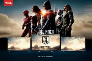 TCL Australia – Win 2 X Double Passes to The Justice League Movie