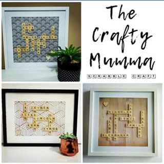 The Crafty Mumma – Win a Standard Size Personalised Frame Valued at $75&#8232 to Enter You Need to Like The Page (prize valued at $75)