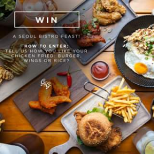 The Gourmand and Gourmet – Win One of Three $60 Seoul Bistro Sunnybank Vouchers