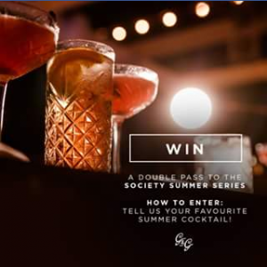 The Gourmand & Gourmet – Win a Double Pass to Sip The Night Away at The Society Summer Series on Friday 24th November