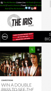 The Iris – Win a Double Pass By Filling In The Form Below
