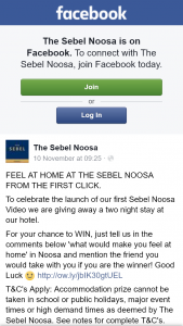 The Sebel Noosa – Win a Two Night Stay at Sebel Noosa