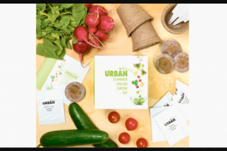 The Senior newspaper – Win One of Two Urbangreens Kits