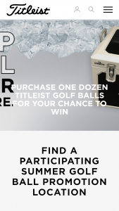 Titleist Aust – Participating Golf Clubs Buy an eligible box dozen of Titliest golf balls – Win The Prize As Outlined In Condition 10. (prize valued at $1st)