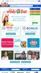 ToysRUs – Win Your Christmas Wishlist Back