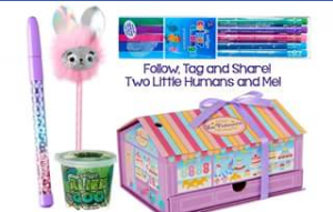 Two Little Humans and me – Win a Smiggle Prize Pack