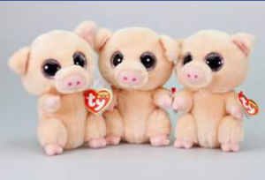 Ty beanie boo collectors – Win a Set of Piggley The Pig Beanie Boos