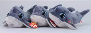 Ty beanie boo collectors – Win Three Echo The Dolphin Beanies
