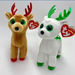 Ty beanie boo collectors – Win Two Cute Christmas Reindeers Beanies