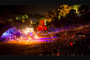 VisiTBrisbane – Win The Ultimate New Years Experience With Woodford Folk Festival