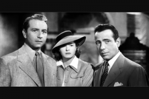 Weekend Edition Brisbane – Win One of 20 Double Passes to The 75th Anniversary Screening of Casablanca