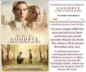 Win a Double Pass to Goodbye Christopher Robin Gateway Bookshop (prize valued at $30)