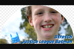 Win 1 of 2 Stretch Justice League Batman Toys