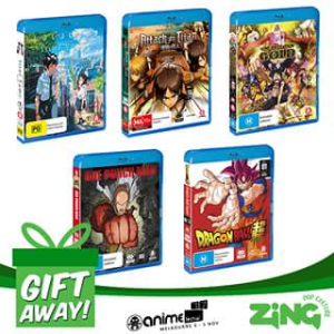 Zing Pop Culture Australia – Win a Madman Anime Bluray