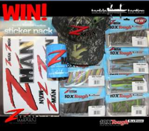 Z-Man Lures Australia – Win a Pack Containing Each Model and More for Yourself and a Mate
