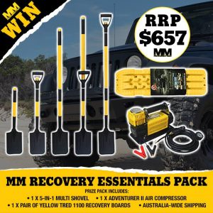 4wd TV – Win Mud and Sand Recovery pack