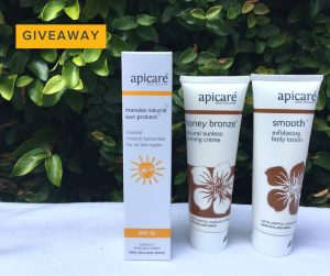 Apicare New Zealand – Win 1 of 2 prize packs