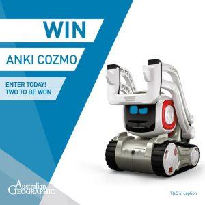 Australian Geographic Shop – Win 1 of 2 Anki Cozmo robots