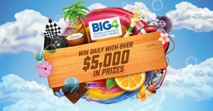BIG4 Holiday Parks – 12 Days of Christmas – Win daily with over $5,000 in prizes