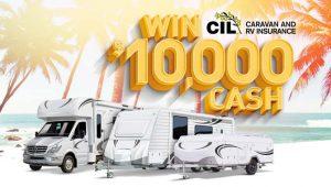 CIL Caravan and RV Insurance – Win $10,000 cash