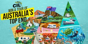 CIL Caravan and RV Insurance – Win a Tour of Australia's Top End for 2 adults valued at up to $24,720