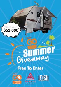 Let's Go Caravan & Camping – New Age Caravans Summer Giveaway – Win a New Age Caravans Road Owl 18ft valued at $51,490