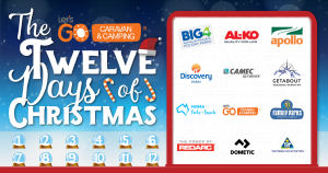 Let's Go Caravan and Camping – 12 Days of Camping Christmas – Win 12 awesome prizes
