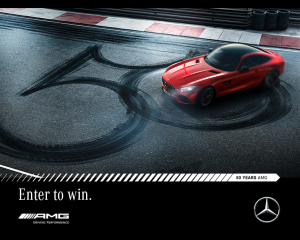 Mercedes-Benz Australia – Win an exclusive AMG driving experience