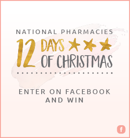 National Pharmacies – 12 Days of Christmas Giveaways