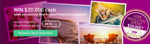 Real Insurance – Win a $20,000 cash prize