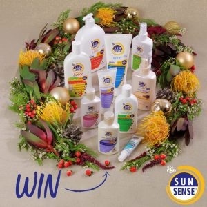 SunSense – Christmas Family Giveaway – Win 1 of 5 SunSense family packs valued at $172 each