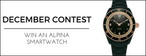 WorldTempus – Win an Alpina Comtesse Horological Smartwatch valued at CHF690