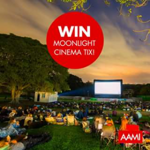 AAMI – Win a Gold Grass Double Pass to Moonlight Cinema (prize valued at $70)