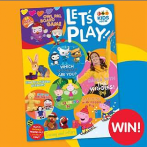 ABC Shop Online – Win an Abc Kids Let's Play Magazine (prize valued at $30)