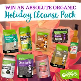 Absolute Organics – Win an Absolute Organic Holiday Cleanse Pack