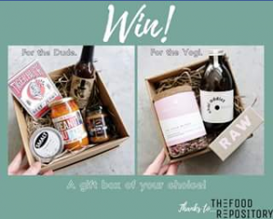 AGFG – Win a Gift Box of Your Choice Thanks to The Food Repository (prize valued at $70)