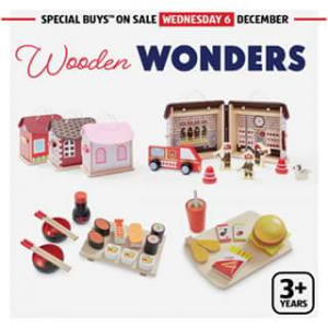 Aldi – Win Some Wooden Toys