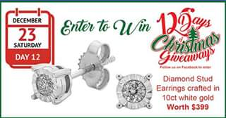 Allen Jewellers FB – Competition (prize valued at $399)