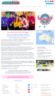 Aussie Kids – Win 1 of 3 One Day Family Passes